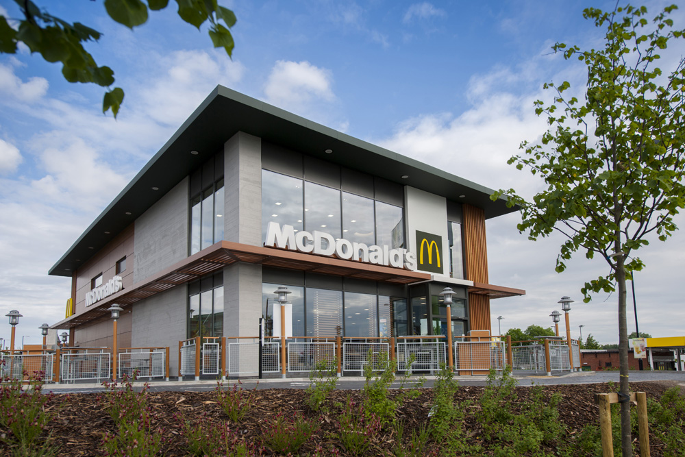 pdr construction mcdonalds openshaw