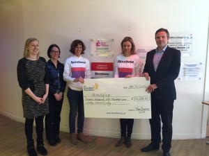 C9999 - PHOT - Cycling charity cheque presentation
