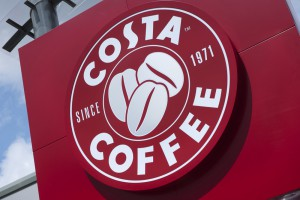 C2459 - Costa Coffee sign