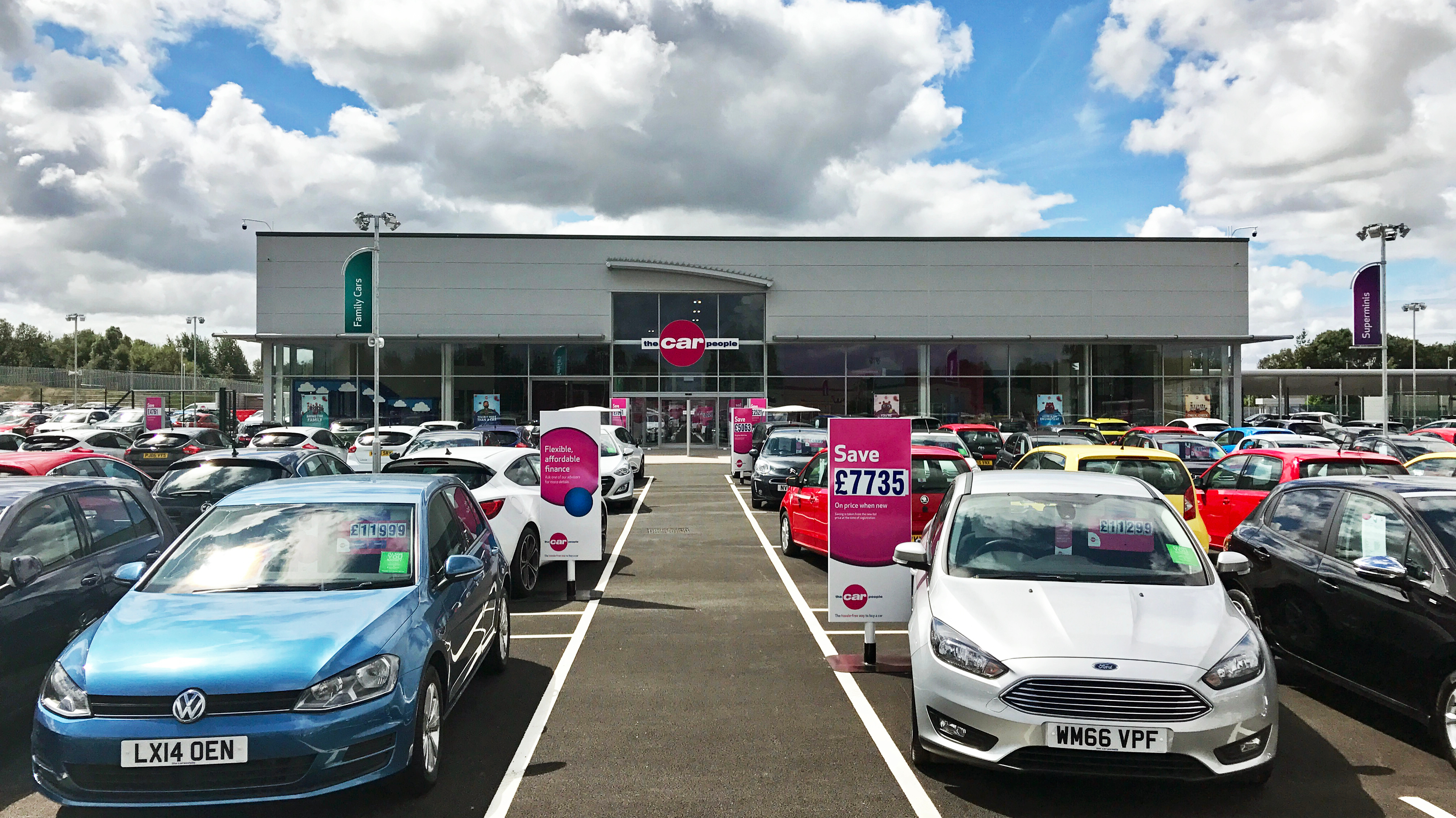 Used Cars Dealerships >> The Car People, Sheffield - PDR Construction