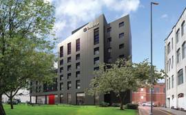 PDR on site with £4M Birmingham Travelodge
