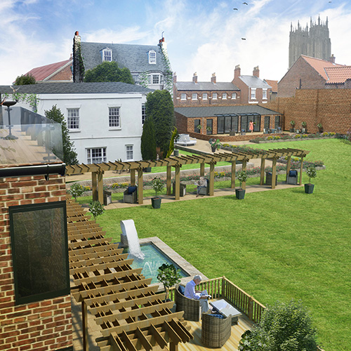 Archaeological Dig at Grade II Listed Keldgate Manor, Beverley