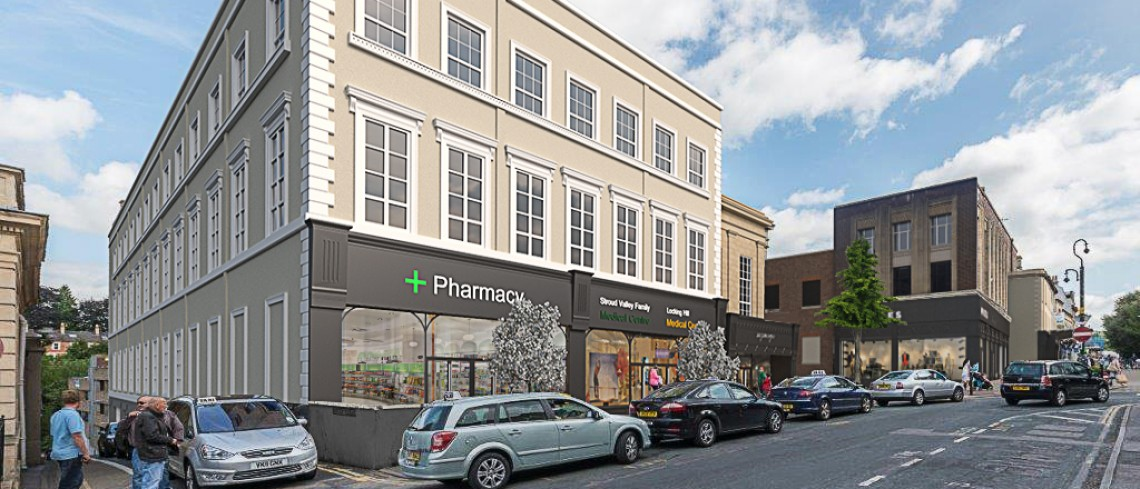 Contract Win – New Medical Centre, Stroud