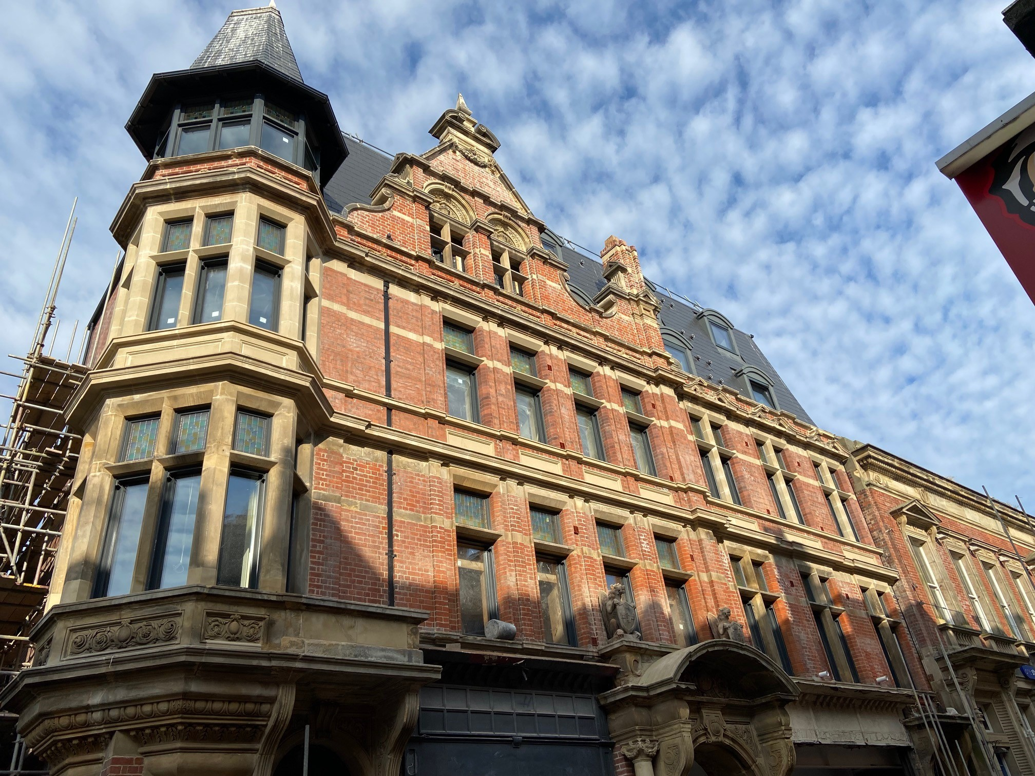 Façade Works to Grade II Listed Building Complete